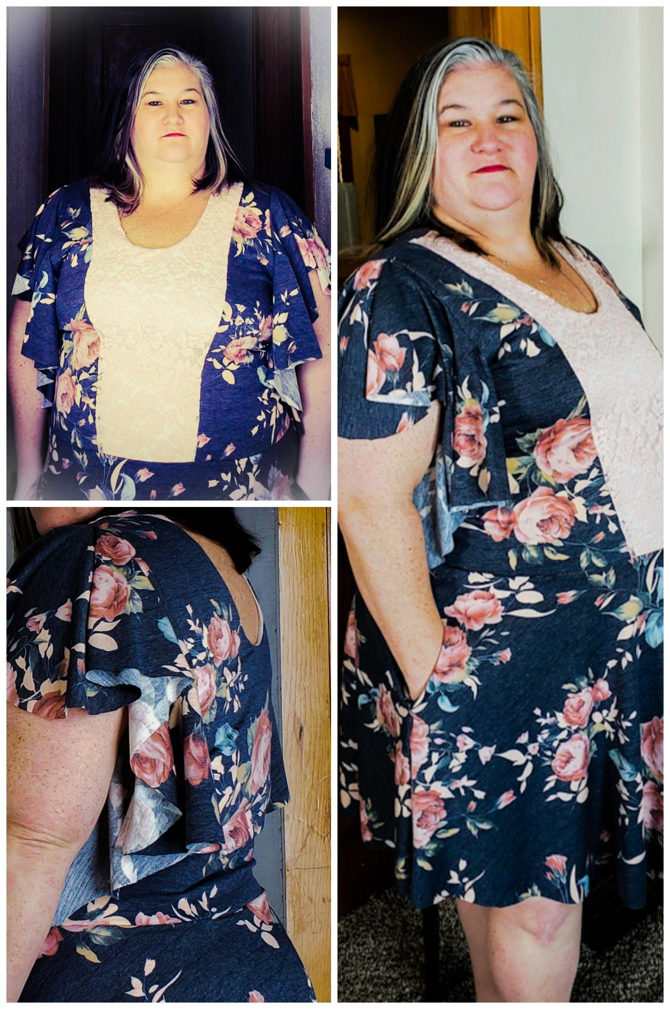 Fiji's Firefly Sleeve Dress Sizes XXS to 3X Adults PDF Pattern