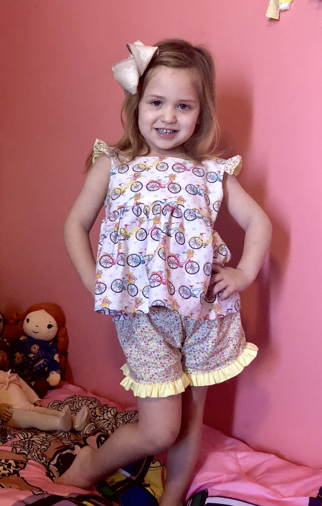 Campbell's Pullover Pajamas Sizes 2T to 14 Kids PDF Pattern