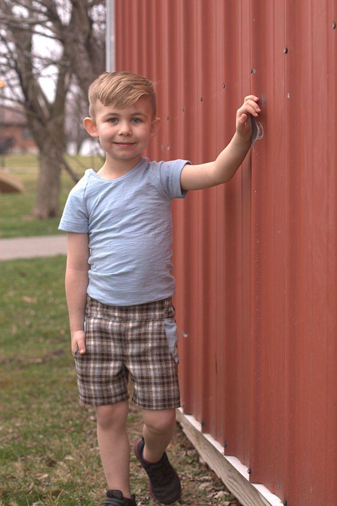 Thomas' Vintage Kids Shorts Sizes 2T to 14 Kids PDF Pattern