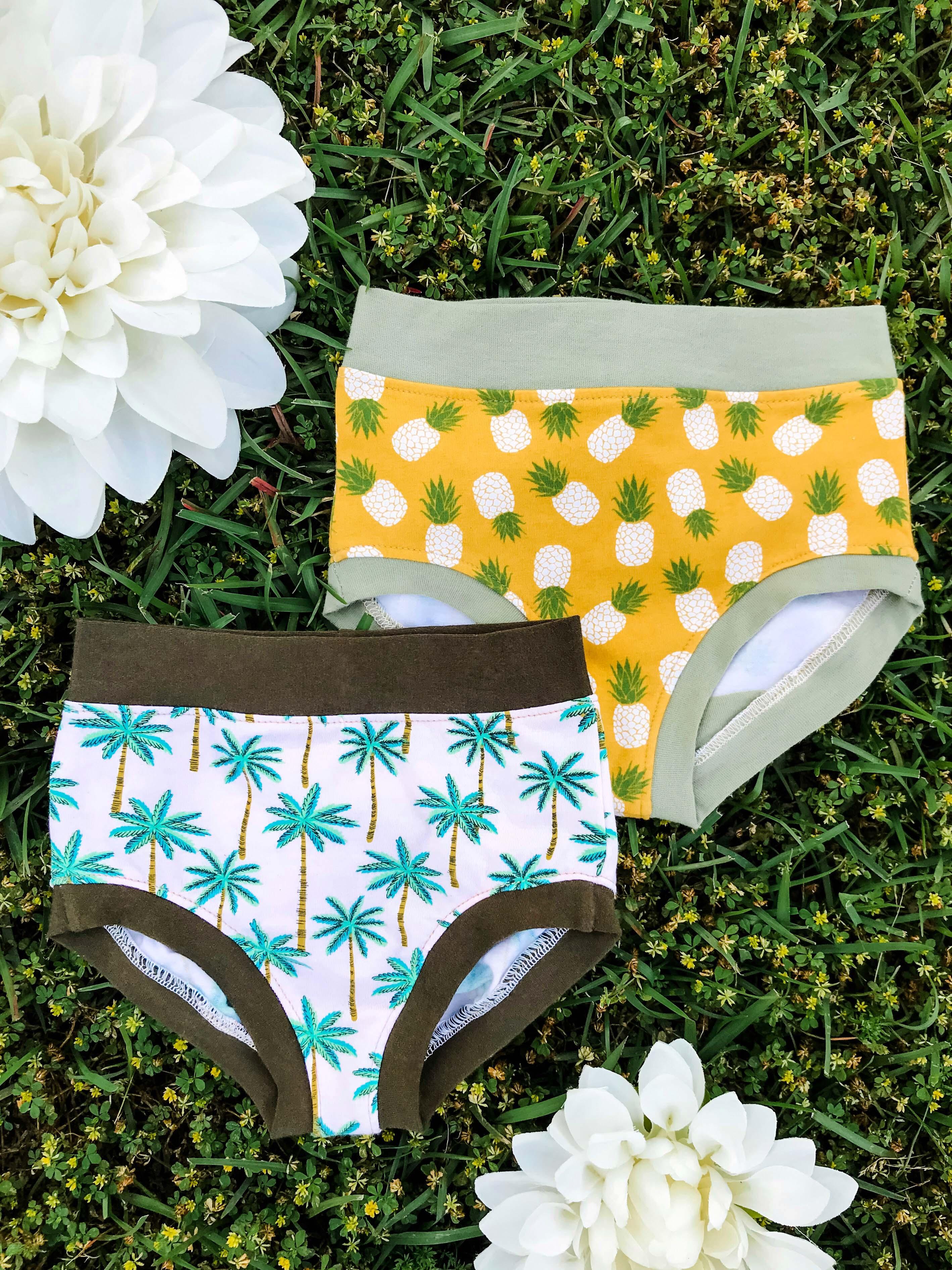 Chastity's Panties Sizes 2T to 14 Kids PDF Pattern