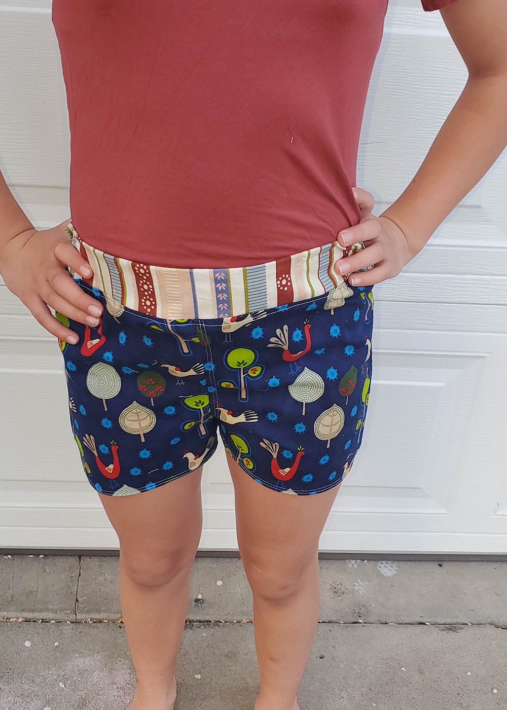 Helia's Hot Pants Sizes 2T to 14 Kids PDF Pattern
