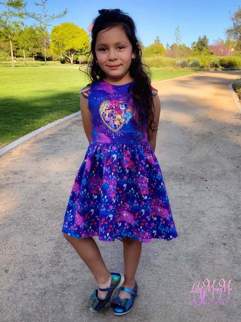 Truely's Tulip Tunic & Dress Sizes 2T to 14 Kids and Dolls PDF Pattern