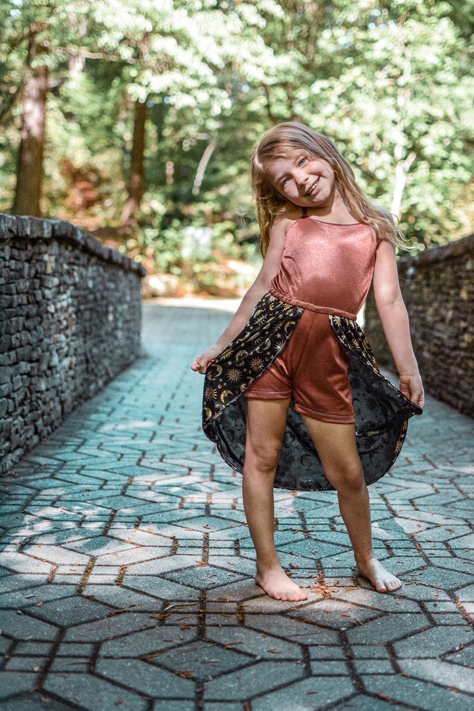 Myrtle's Maxi Romper Sizes 2T to 14 Kids PDF Pattern