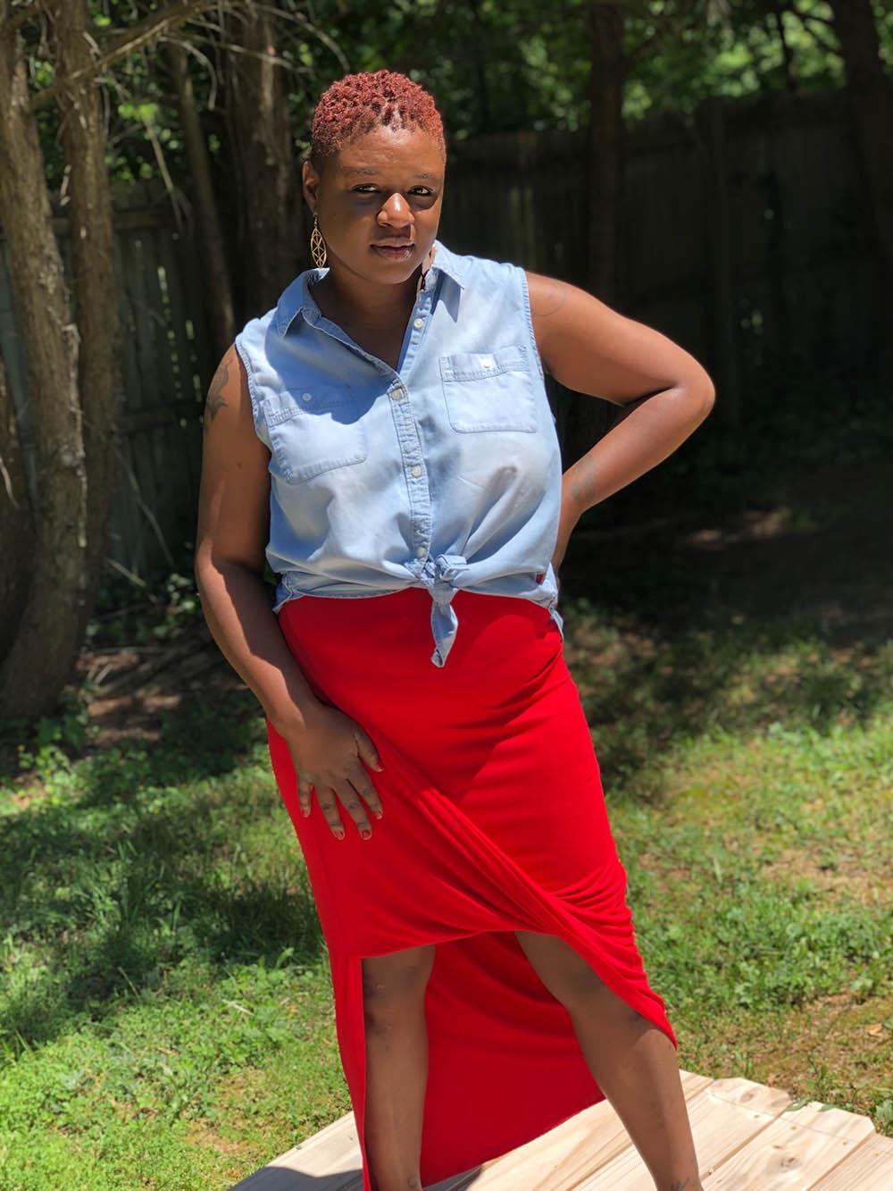 Argentina's Asymmetric Maxi Skirt Sizes XXS to 3X Adults PDF Pattern