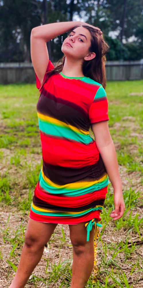 Romania's Ruched Top and Dress XXS to 3X Adults PDF Pattern