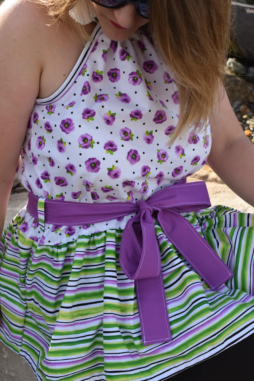 Zambia's Halter Top and Dress Sizes XXS to 3X Adults PDF Pattern