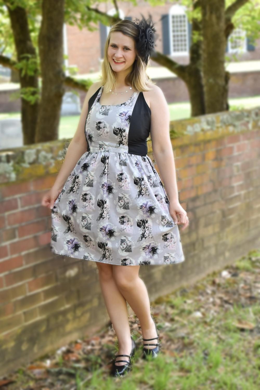 Honey's Tie-Back Dress and Maxi Sizes XXS to 3X adults PDF Pattern