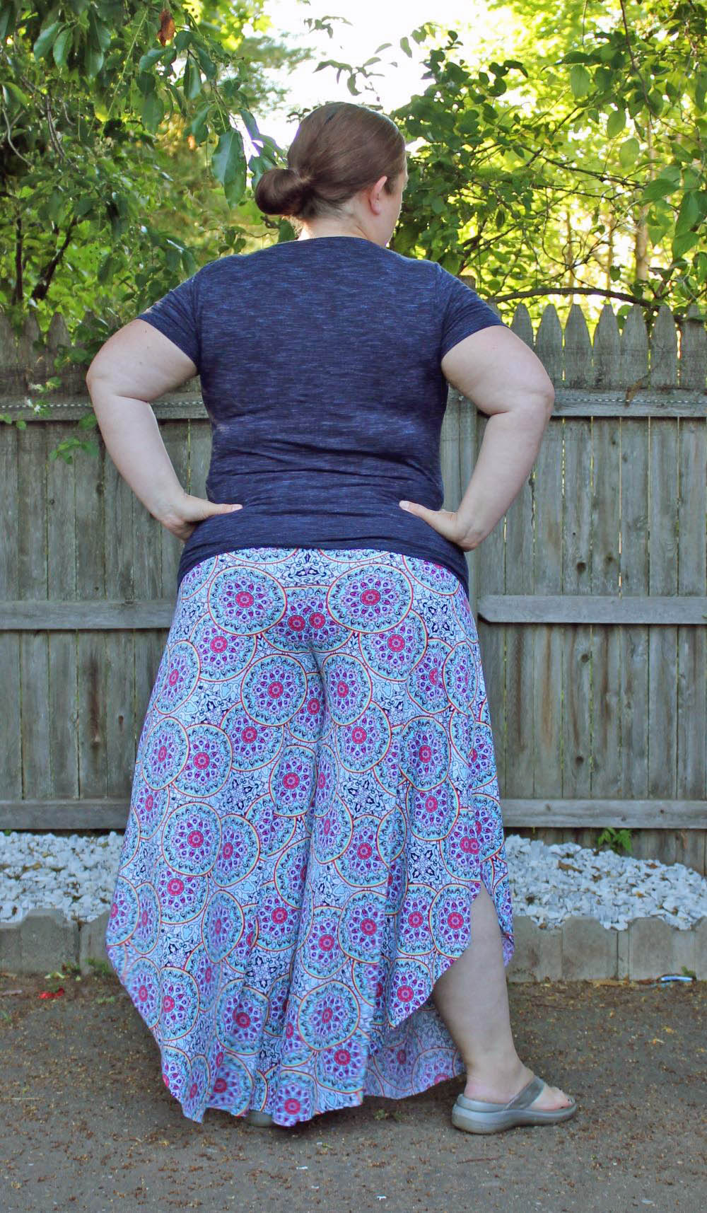 Cusco's Culottes Sizes XXS to 3X Adults PDF Pattern