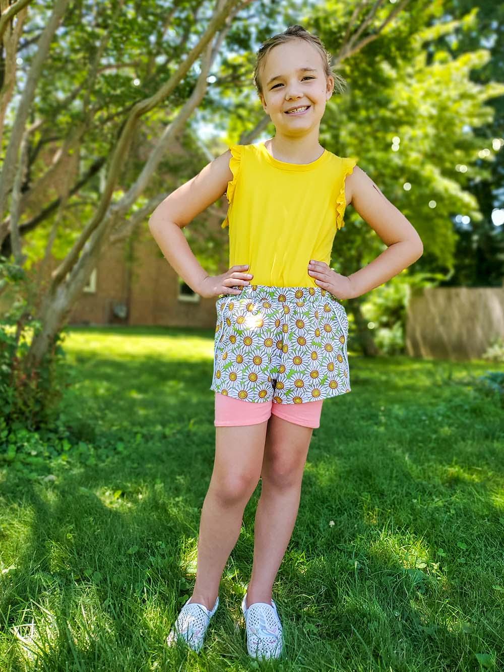 Helaine's Drop Waist Top & Dress Sizes 2T to 14 Kids and Dolls  PDF Pattern
