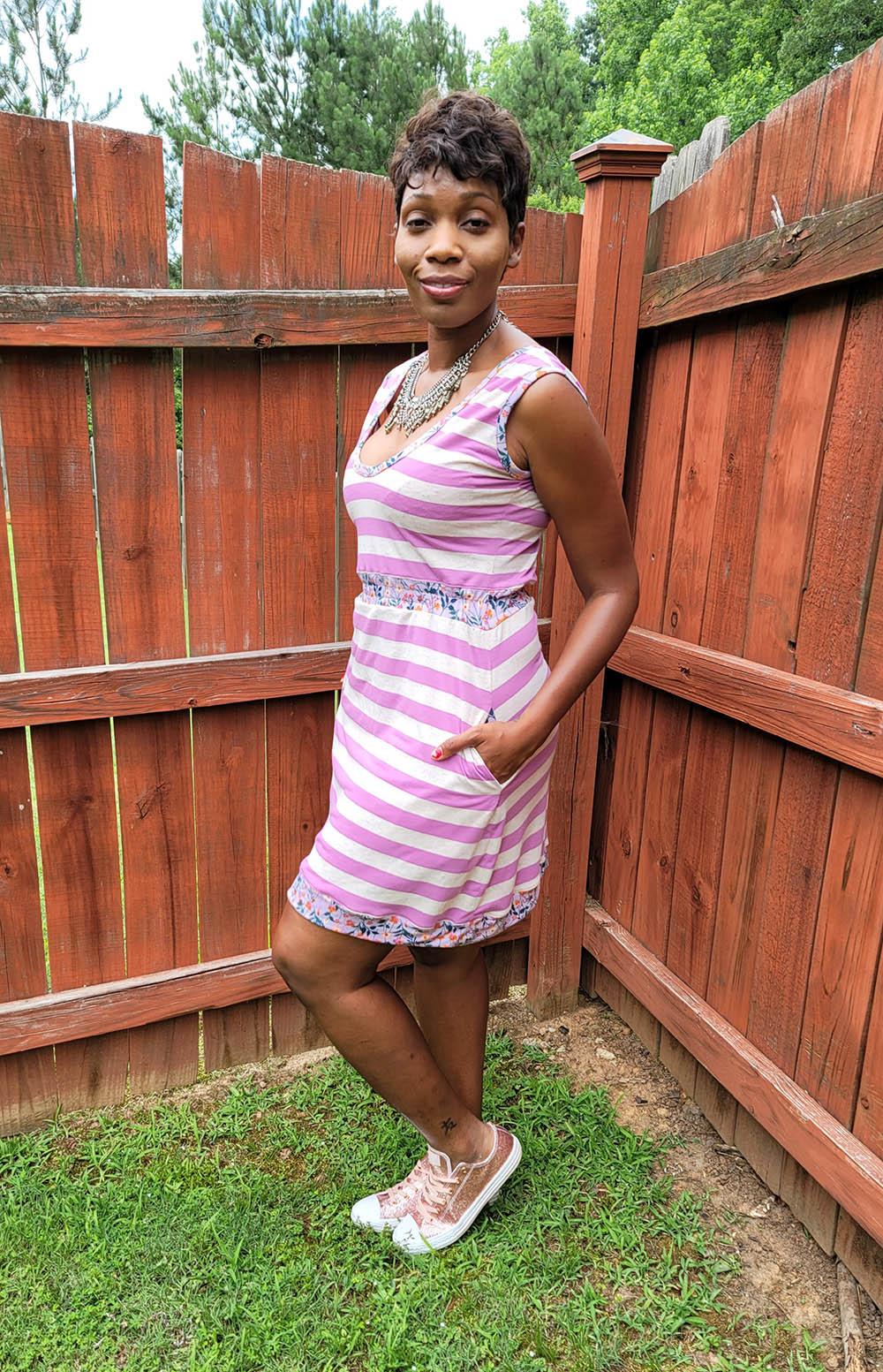 Blondie's Knit Roller Rink Dress  Sizes XXS to 3X Adults PDF Pattern