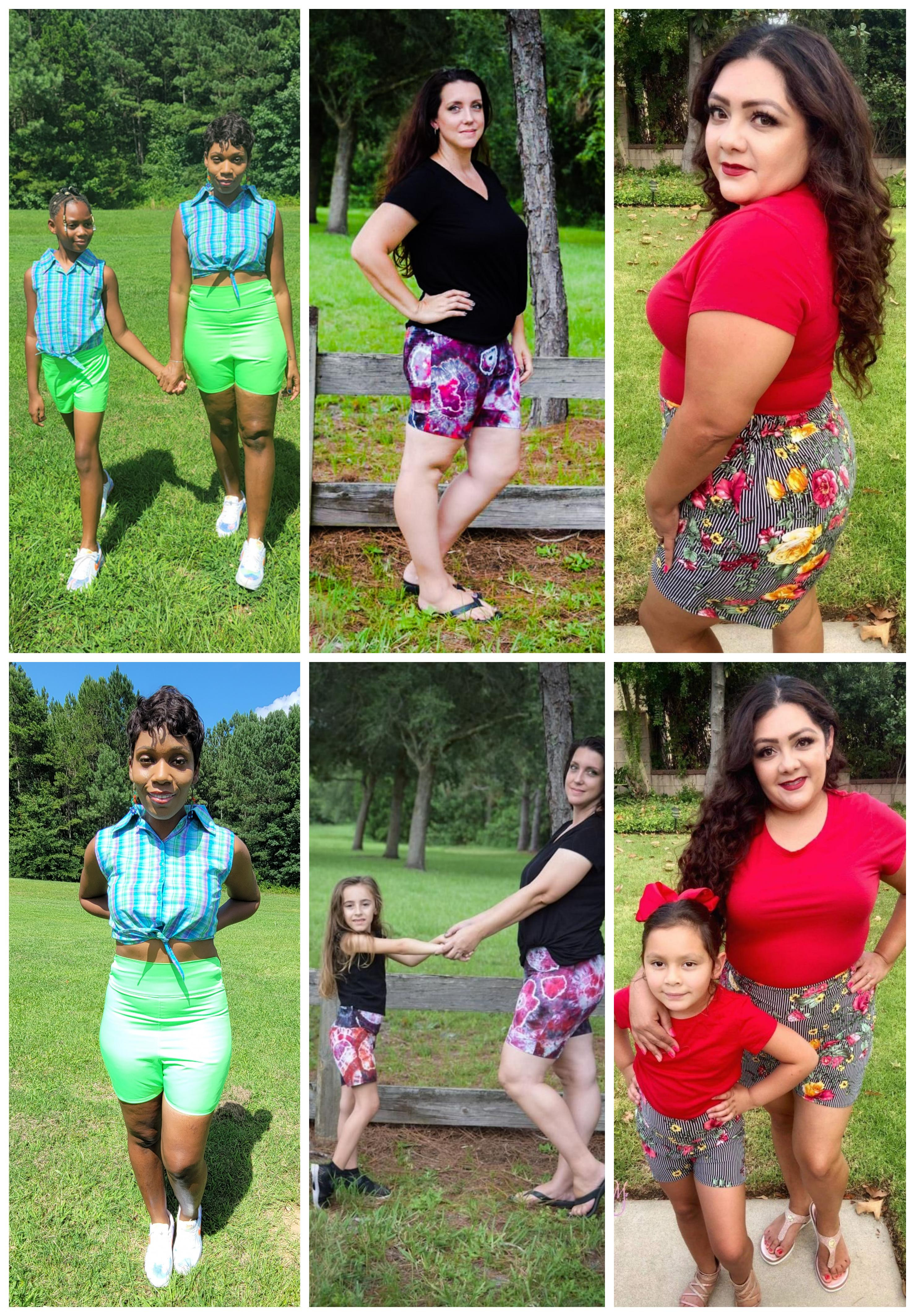Helia's Hot Pants Sizes XXS to 3X Adults PDF Pattern