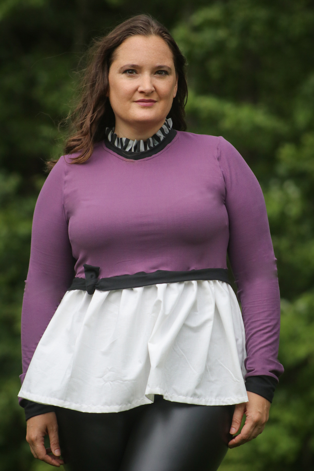 Thea's Knotted Top Sizes XXS to 3X Adults PDF Pattern