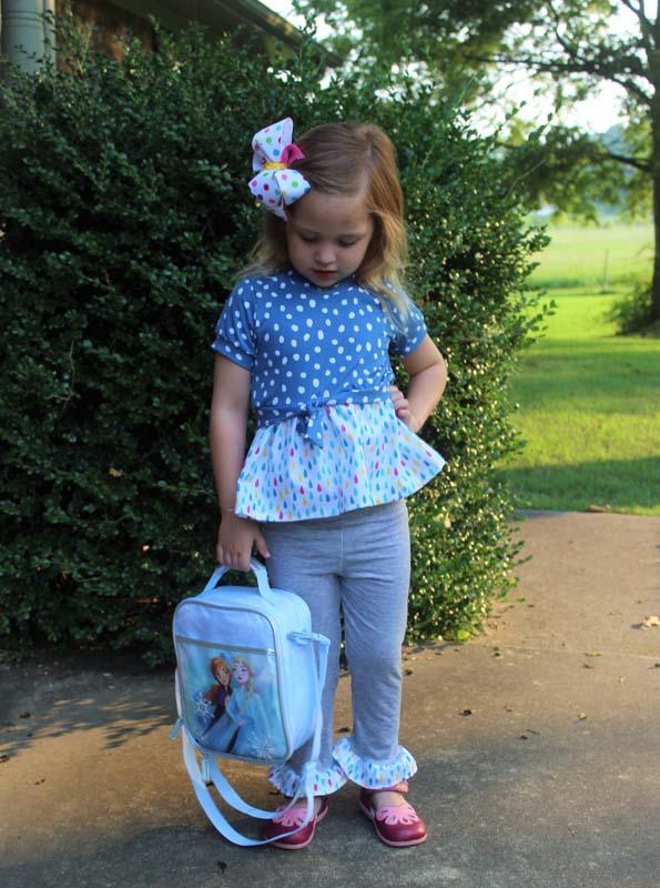 Reya's Ruffled Leggings Sizes 2T to 14 Kids PDF Pattern