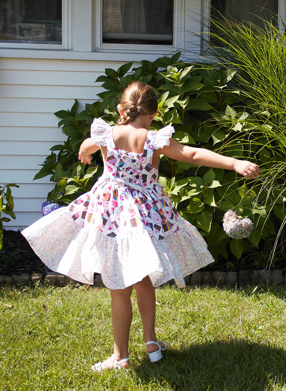 Gardenia's Tiered Dress Sizes NB to 14 Kids PDF Pattern