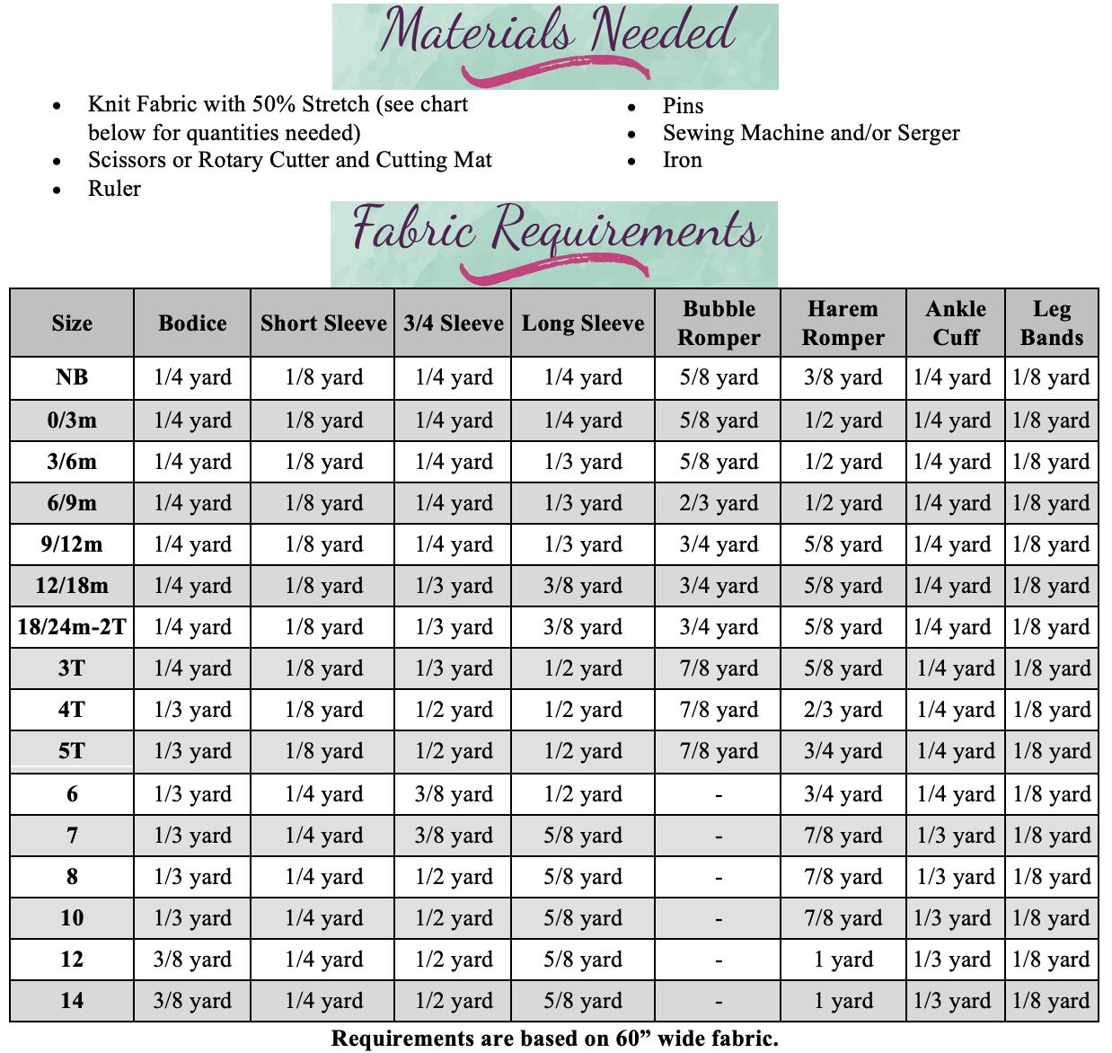 Lotus' Knit Romper Sizes NB to 14 Kids PDF Pattern