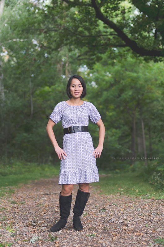 Marilyn's Slim Fit Peasant Dress and Top Sizes 7/8 Kids to 5X Adults PDF Pattern