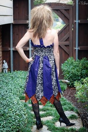 Fairy's Double Layer Princess Dress Sizes XS to XL Adults PDF Pattern