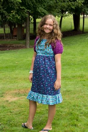 Marissa's Perfect Peasant Dress Sizes XS to 5X Adults PDF Pattern
