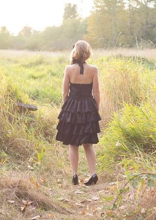 Primrose's Ruffled Corset Princess Dress Sizes XS to XL Adults PDF Pattern