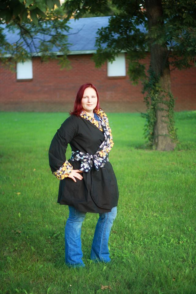 Willow's Women's Wrap Sizes XS to XL Adults Jacket PDF Pattern