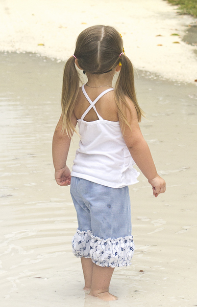 Clarissa's Belted Pants and Capris Sizes NB to 15/16 Kids and Dolls PDF Pattern