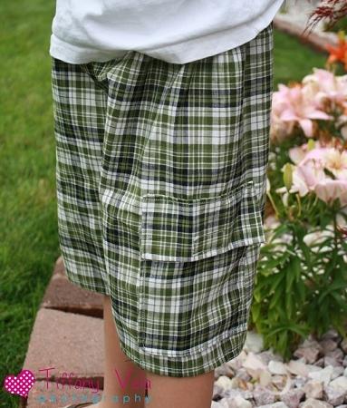 Ethan's Cargo Shorts PDF Pattern
