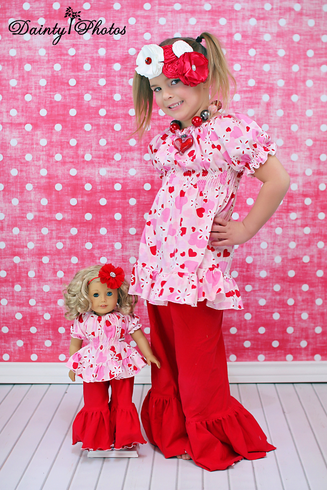 Jessica's Knit Ruffle Pants and Capris Sizes 6/12m to 15/16 Kids and Dolls PDF Pattern