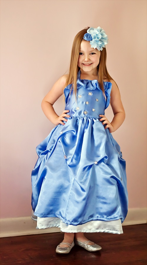 Cheyenne's Perfect Party Dress Sizes 6/12m to 15/16 Kids and Dolls PDF Pattern