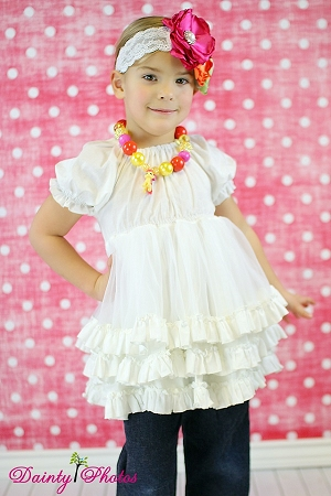 Shirley's Fabric Petti Top and Dress PDF Pattern