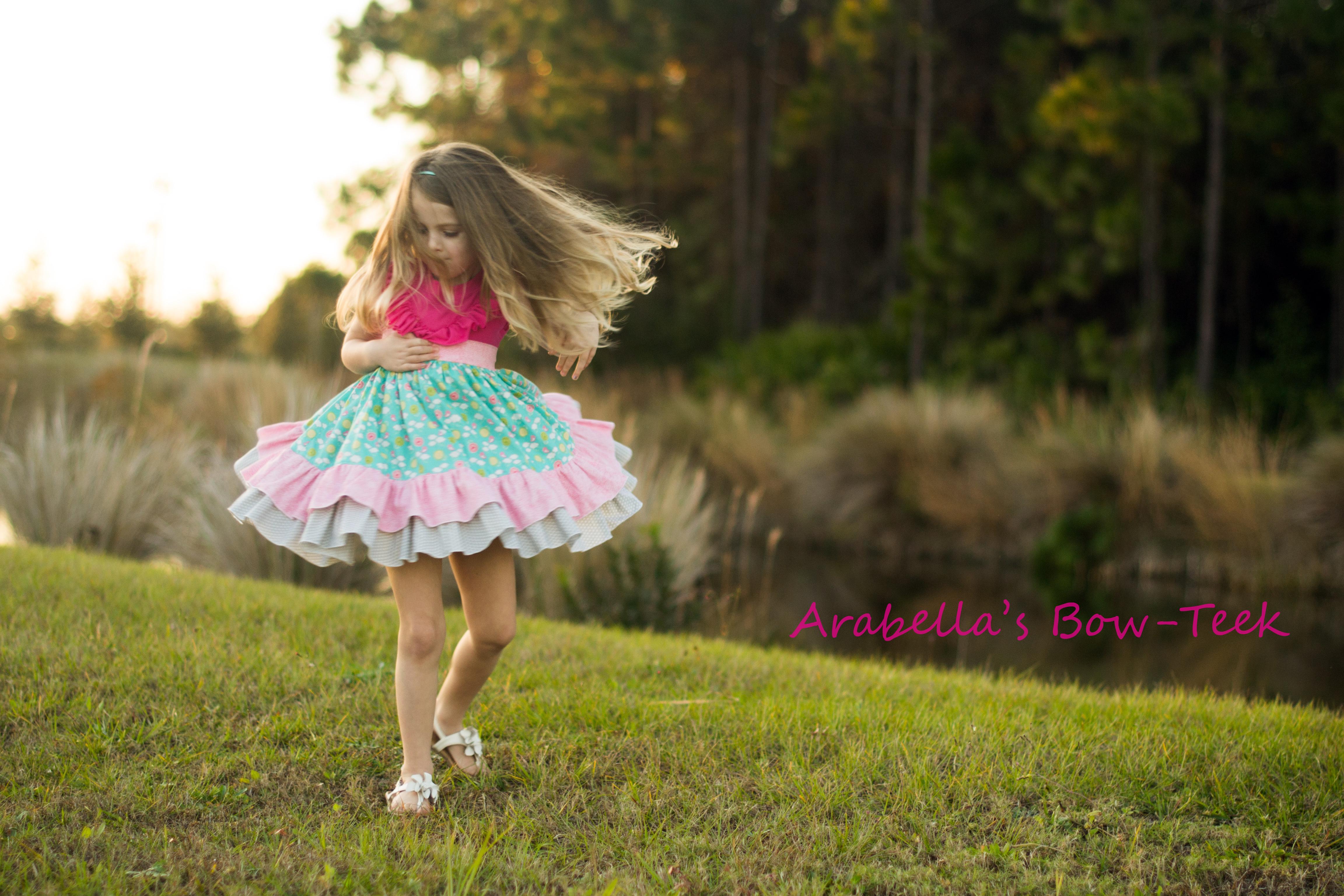 Karley's Knit Tank Dress Sizes 6/12m to 8 Kids PDF Pattern