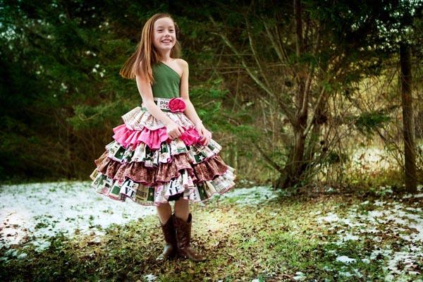 Francesca's Frilly Ruffle Dress Sizes NB to 8 Kids PDF Pattern