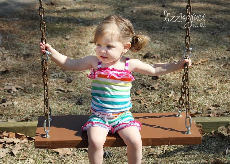 Rebecca's Knit Romper Sizes 6/12m to 8 Kids PDF Pattern