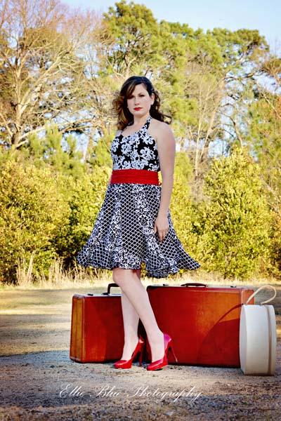 Suzanne's Sweetheart Swirly Dress Sizes XS to XL Adults PDF Pattern