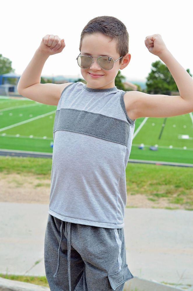 Michael's Muscle Tee Sizes 2T to 14 Kids PDF Pattern