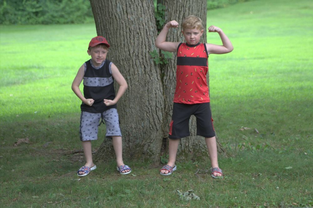 Michael's Muscle Tee Sizes 2T to 14 Kids PDF Pattern