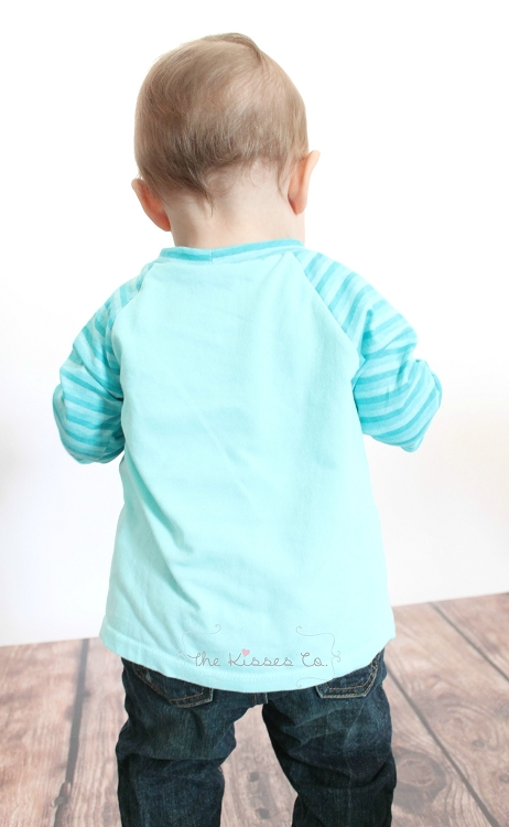 Brody's Baseball Tee Sizes NB to 15/16 Kids PDF Pattern