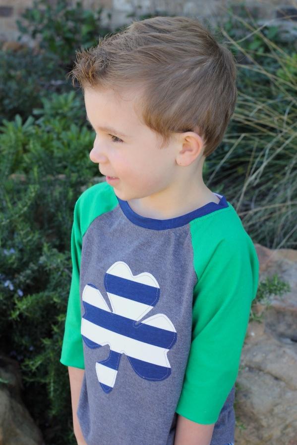 Brody's Baseball Tee Sizes NB to 15/16 Kids PDF Pattern