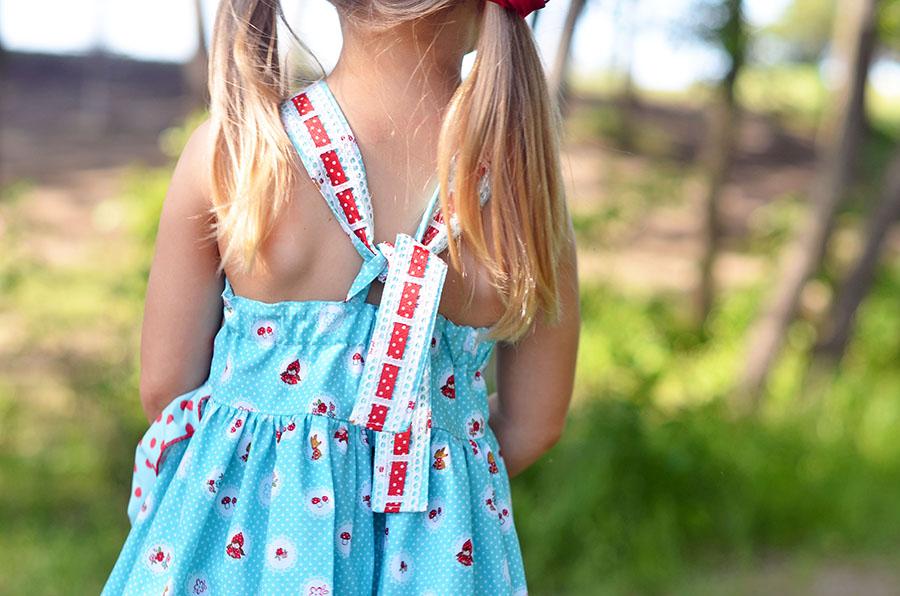 Monroe's Wrap Dress Sizes 6/12m to 8 Kids PDF Pattern