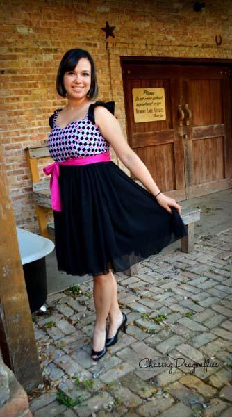 Bethany's Fancy Party Dress Sizes XS to XL Adults PDF Pattern