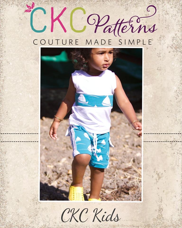 Greg's Knit Shorts Sizes NB to 14 Kids PDF Pattern