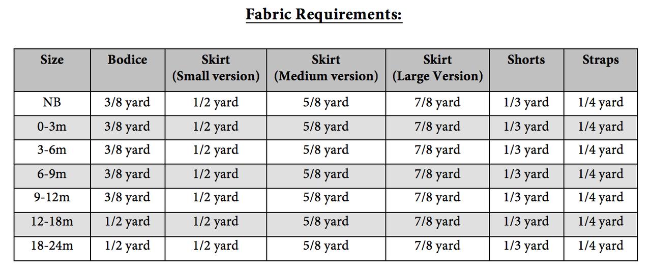 Farrah's Peplum Romper Sizes NB to 8 Kids and Dolls PDF Pattern