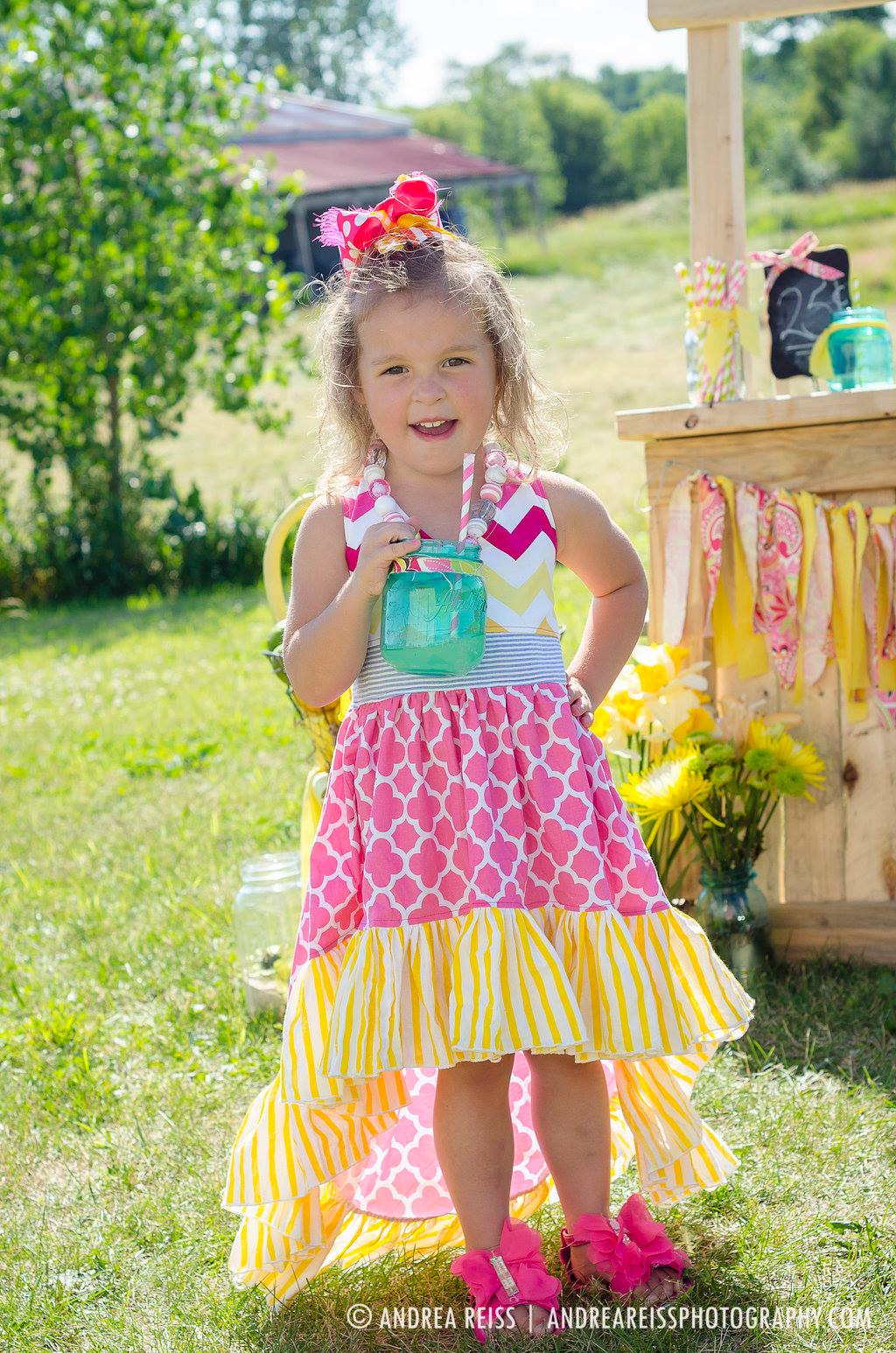Hope's Hi-Low Dress Sizes 6/12m to 15/16 Kids and Dolls PDF Pattern