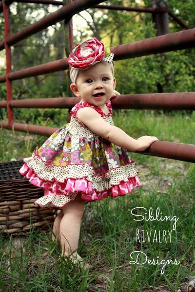 Seyla's Baby Sundress & Top PDF Pattern
