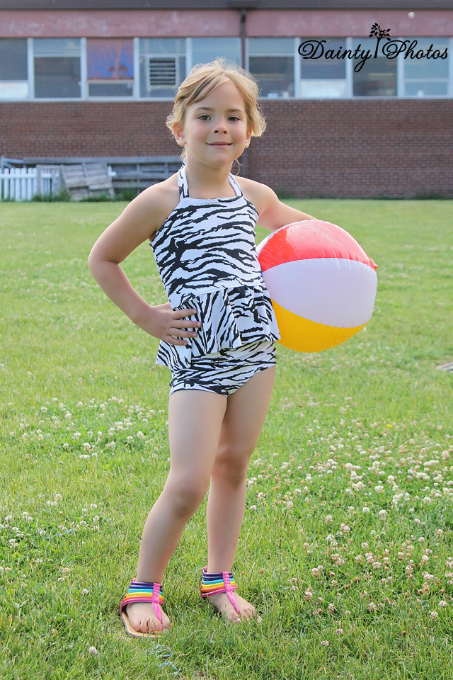 Arielle's Tankini Sizes 2T to 8 Kids PDF Pattern