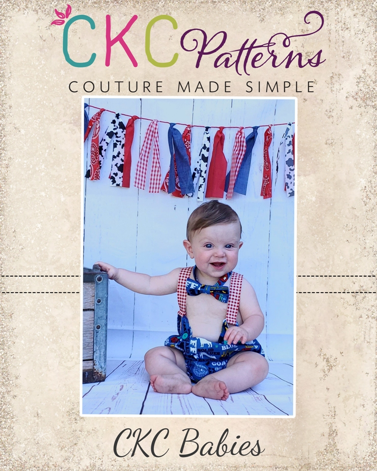 Connor's Diaper Cover Set Sizes NB to 18/24m Babies PDF Pattern
