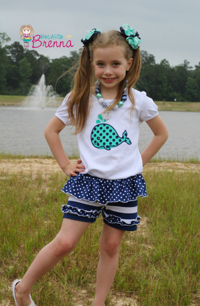 Holly's Knit Ruffle Shorts Sizes 6/12m to 8 Kids PDF Pattern