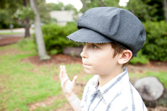 Christopher's Newsboy Cap PDF Pattern