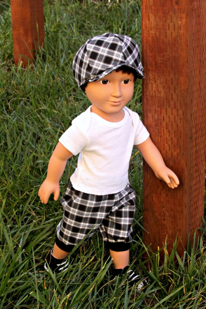 Christopher's Newsboy Cap Sizes NB to Adults and Dolls PDF Pattern