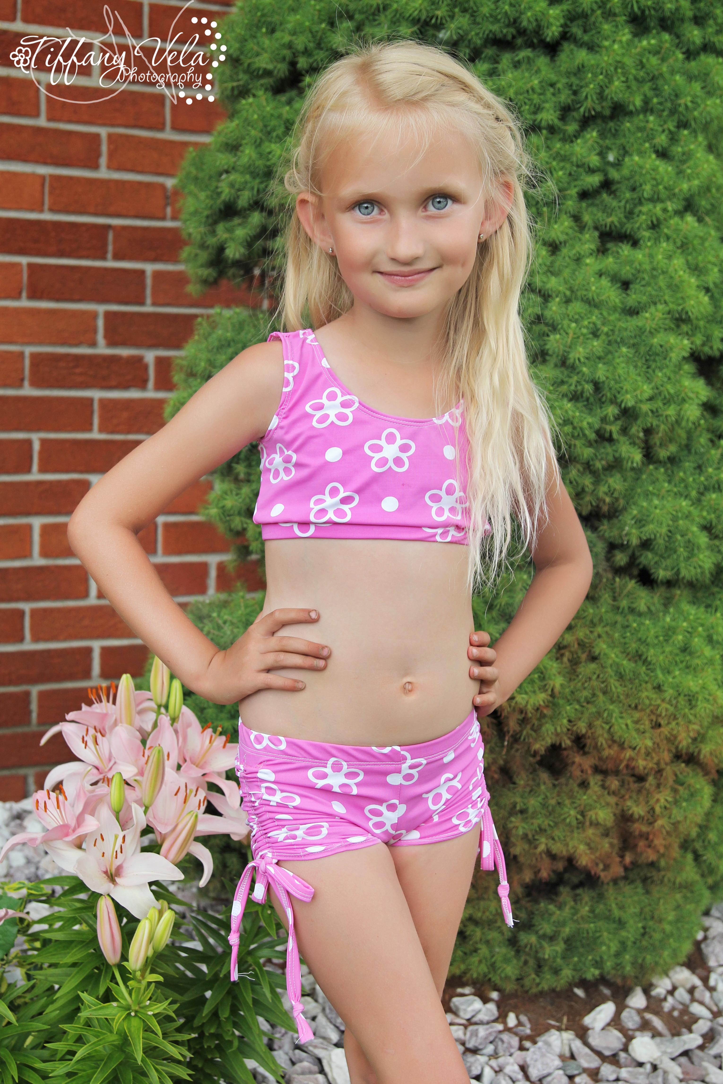 Cindy's Cinched Dancewear Sizes 2T to 8 Kids PDF Pattern