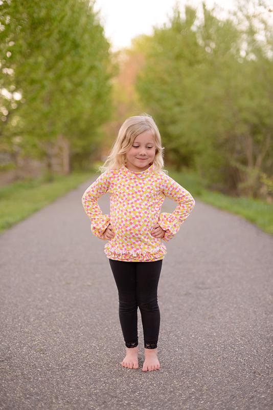 Brenda's Bubble Sleeve Top Sizes 6/12m to 15/16 Kids PDF Pattern